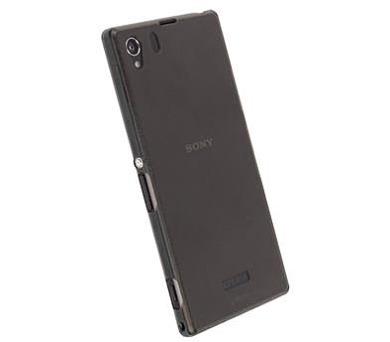Krusell FrostCover pro Sony Xperia Z1 Transparent Black + DOPRAVA ZDARMA