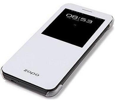 ZOPO Flipové pouzdro S-View pro ZP999/ZP3X White (Bulk)