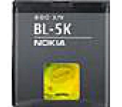 BL-5K Nokia baterie 1300mAh Li-Ion (Bulk) + DOPRAVA ZDARMA