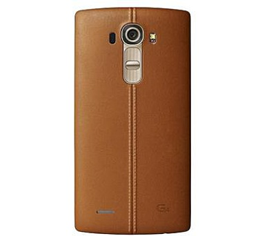 LG Kožený zadní kryt CPR-110 pro LG G4 Brown + DOPRAVA ZDARMA