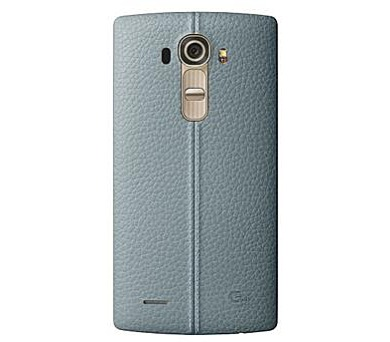 LG Kožený zadní kryt CPR-110 pro LG G4 Blue + DOPRAVA ZDARMA