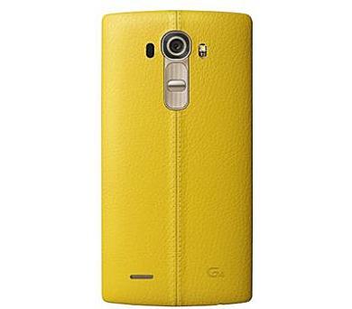 LG Kožený zadní kryt CPR-110 pro LG G4 Yellow + DOPRAVA ZDARMA