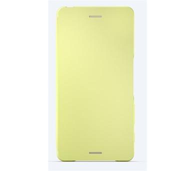 Sony Style Cover Flip pro Xperia X Lime Gold + DOPRAVA ZDARMA