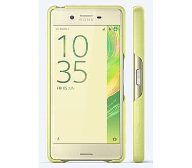 Sony Style Back Cover pro Xperia X Lime Gold