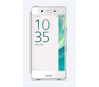 Sony Style Cover Touch pro Xperia X Performance White + DOPRAVA ZDARMA