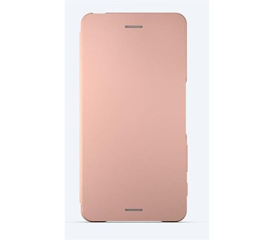 Sony Style Cover Flip pro Xperia X Performance Rose Gold