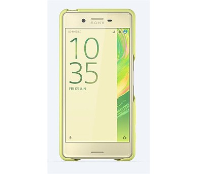 Sony Style Back Cover pro Xperia X Performance Lime Gold