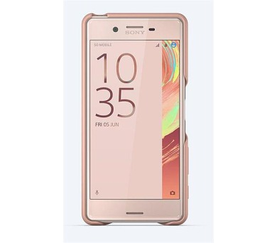 Sony Style Back Cover pro Xperia X Performance Rose Gold