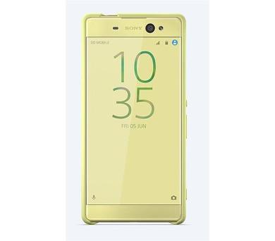 Sony Style Back Cover pro Xperia XA Ultra Lime Gold + DOPRAVA ZDARMA