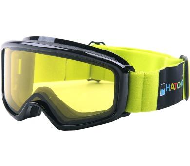 Lyžařské brýle OPTIC JUNIOR BLACK Hatchey + DOPRAVA ZDARMA