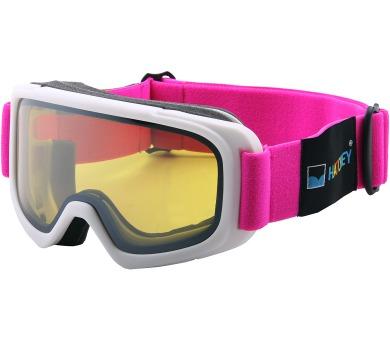 Lyžařské brýle Tracer Junior White/Pink Hatchey + DOPRAVA ZDARMA