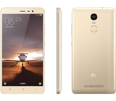 Xiaomi Redmi Note 3 16 GB - zlatý