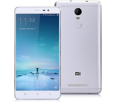 Xiaomi Redmi Note 3 PRO 16 GB - stříbrný + DOPRAVA ZDARMA