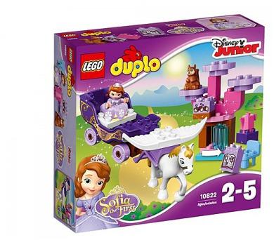 Stavebnice LEGO® DUPLO Sofia the First 10822 Sofie a její kouzelný kočár