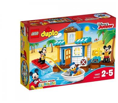 Disney 10827 Mickey a jeho kamarádi v domě na pláži