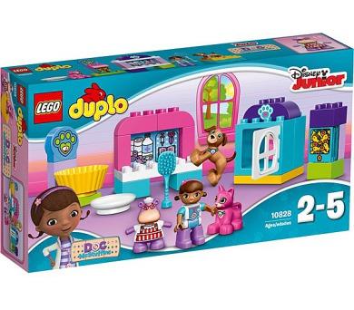 Stavebnice LEGO® DUPLO Doktorka plyšáková 10828 veterinární klinika
