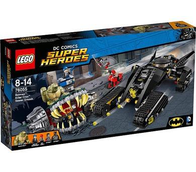 Stavebnice LEGO® SUPER HEROES 76055 Batman™ Killer Croc™ - Zničení ve stokách + DOPRAVA ZDARMA