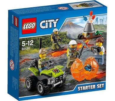 Stavebnice LEGO® CITY Sopeční průzkumníci 60120 Sopečná startovací sada