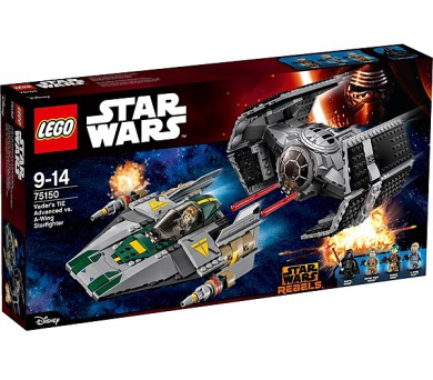 Stavebnice Lego® Star Wars TM 75150 Vader's TIE Advanced vs. A-Wing Starfighter