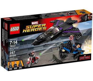 Stavebnice LEGO® SUPER HEROES 76047 Pronásledování Black Pantherem