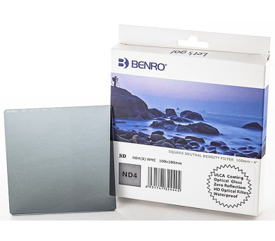 Benro SD ND4(S) WMC 100x100 mm + DOPRAVA ZDARMA