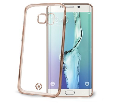 Celly Laser pro Samsung Galaxy S6 Edge Plus - zlatý