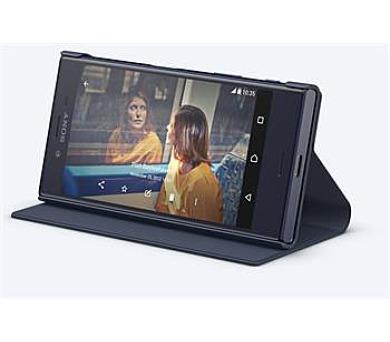Sony Style Cover Flip pro Xperia X Compact Black + DOPRAVA ZDARMA