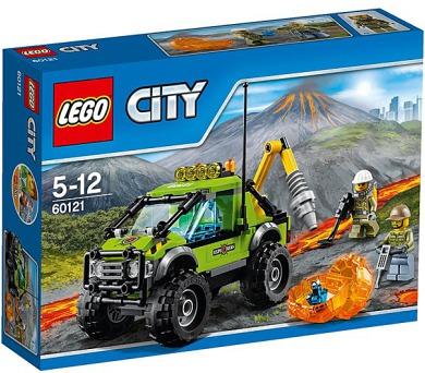 Stavebnice LEGO® CITY Sopeční průzkumníci 60121 Sopečné průzkumné vozidlo