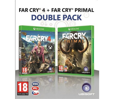 Ubisoft Xbox One Far Cry Primal + Far Cry 4 - duopack