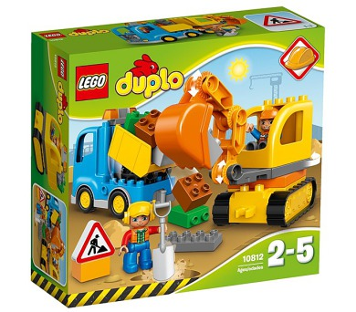Stavebnice Lego® DUPLO Město 10812 Pásový bagr a náklaďák