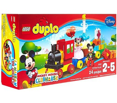 Stavebnice Lego® DUPLO 10597 Přehlídka k narozeninám Mickeyho a Minnie + DOPRAVA ZDARMA
