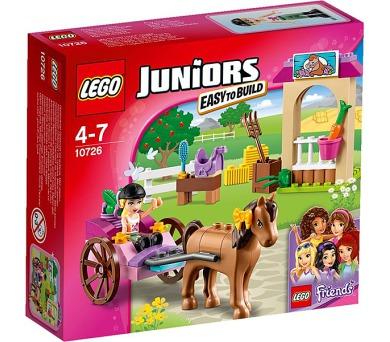 Stavebnice Lego® Juniors 10726 Stephanie a kočár s koníkem