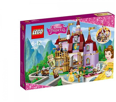 DISNEY PRINCEZNY 41067 Bella a kouzelný hrad + DOPRAVA ZDARMA