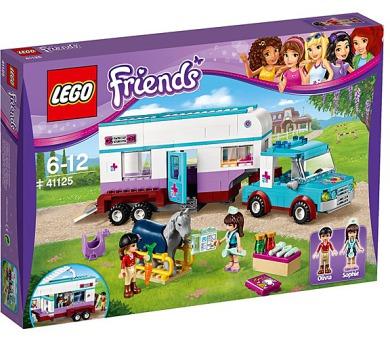 Stavebnice Lego® Friends 41125 Veterinářský přívěs s koněm
