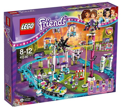 Stavebnice Lego® Friends 41130 Horská dráha v zábavním parku