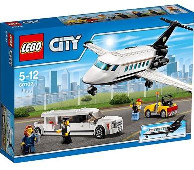Stavebnice LEGO® CITY Letiště 60102 VIP servis