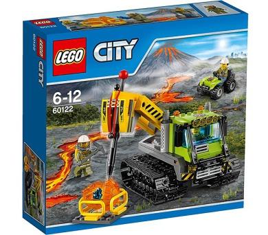 Stavebnice LEGO® CITY Sopeční průzkumníci 60122 Sopečná rolba + DOPRAVA ZDARMA
