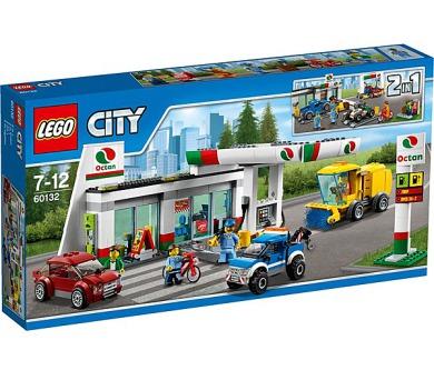 Stavebnice LEGO® CITY 60132 Benzínová stanice + DOPRAVA ZDARMA
