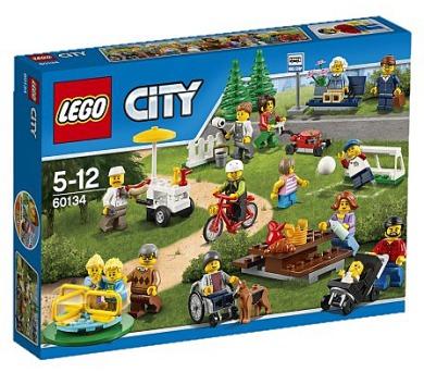 Stavebnice Lego® City 60134 Zábava v parku - lidé z města + DOPRAVA ZDARMA