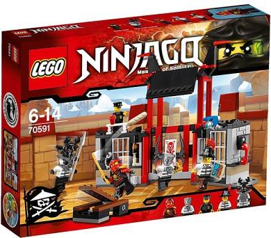 Stavebnice Lego® Ninjago 70591 Útěk z vězení Kryptarium