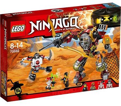 Stavebnice Lego® Ninjago 70592 Robot Salvage M.E.C.