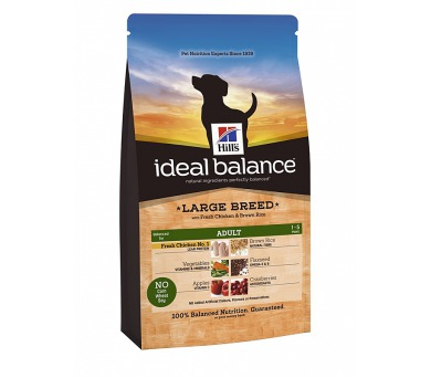 Ideal Balance Canine Adult Large Breed with Fresh Chicken & Brown Rice 12 kg