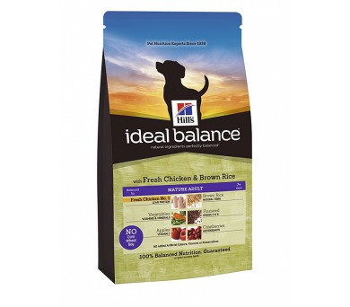 Ideal Balance Canine Mature Adult with Fresh Chicken & Brown Rice 12 kg