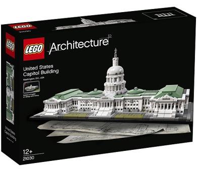Stavebnice Lego® Architecture 21030 Kapitol Spojených států amerických + DOPRAVA ZDARMA
