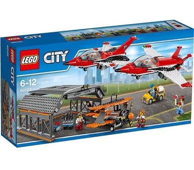 Stavebnice LEGO® CITY Letiště 60103 letecká show + DOPRAVA ZDARMA