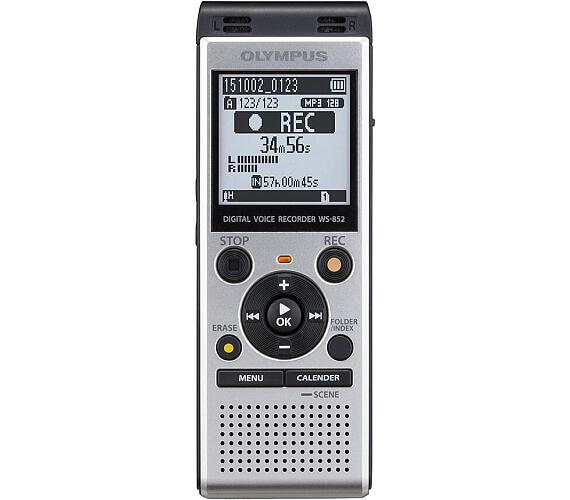 Olympus WS-852 Silver + TP-8 Telephone Pickup