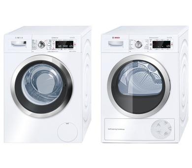 Bosch WAW28740EU + Sušička Bosch WTW85560BY + 100 dní možnost vrácení*