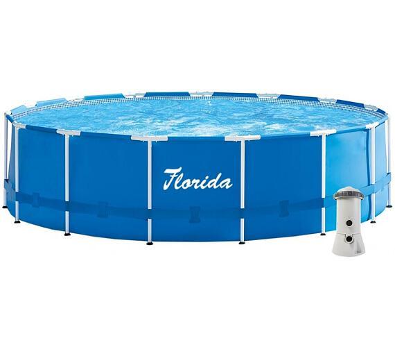 Bazén Florida 4,57x1,22 m komplet + Kartušová Filtrace + DOPRAVA ZDARMA