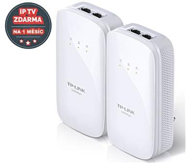 TP-Link TL-PA7020KIT + IP TV na 1 měsíc ZDARMA + DOPRAVA ZDARMA