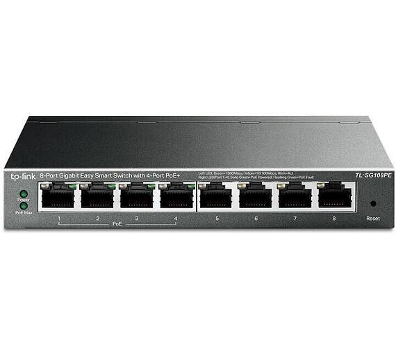 TP-Link TL-SG108PE PoE + DOPRAVA ZDARMA